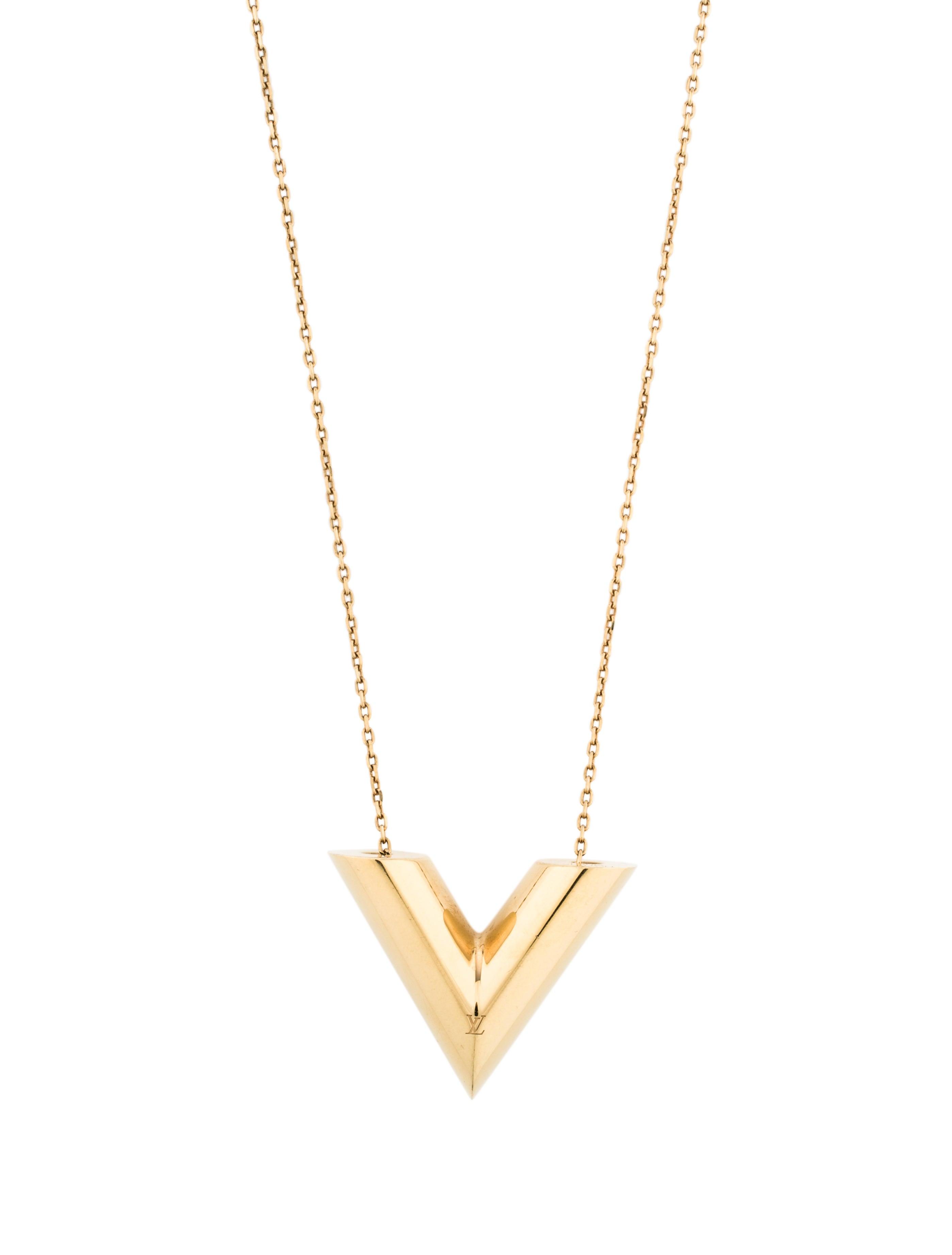 cd4d18d454e1 Louis Vuitton Essential V Sautoir Necklace - Necklaces - LOU96126 ...