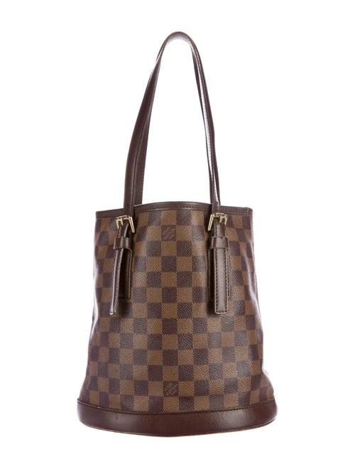 6da6e0329d69 Louis Vuitton Damier Petit Bucket Bag - Handbags - LOU96256