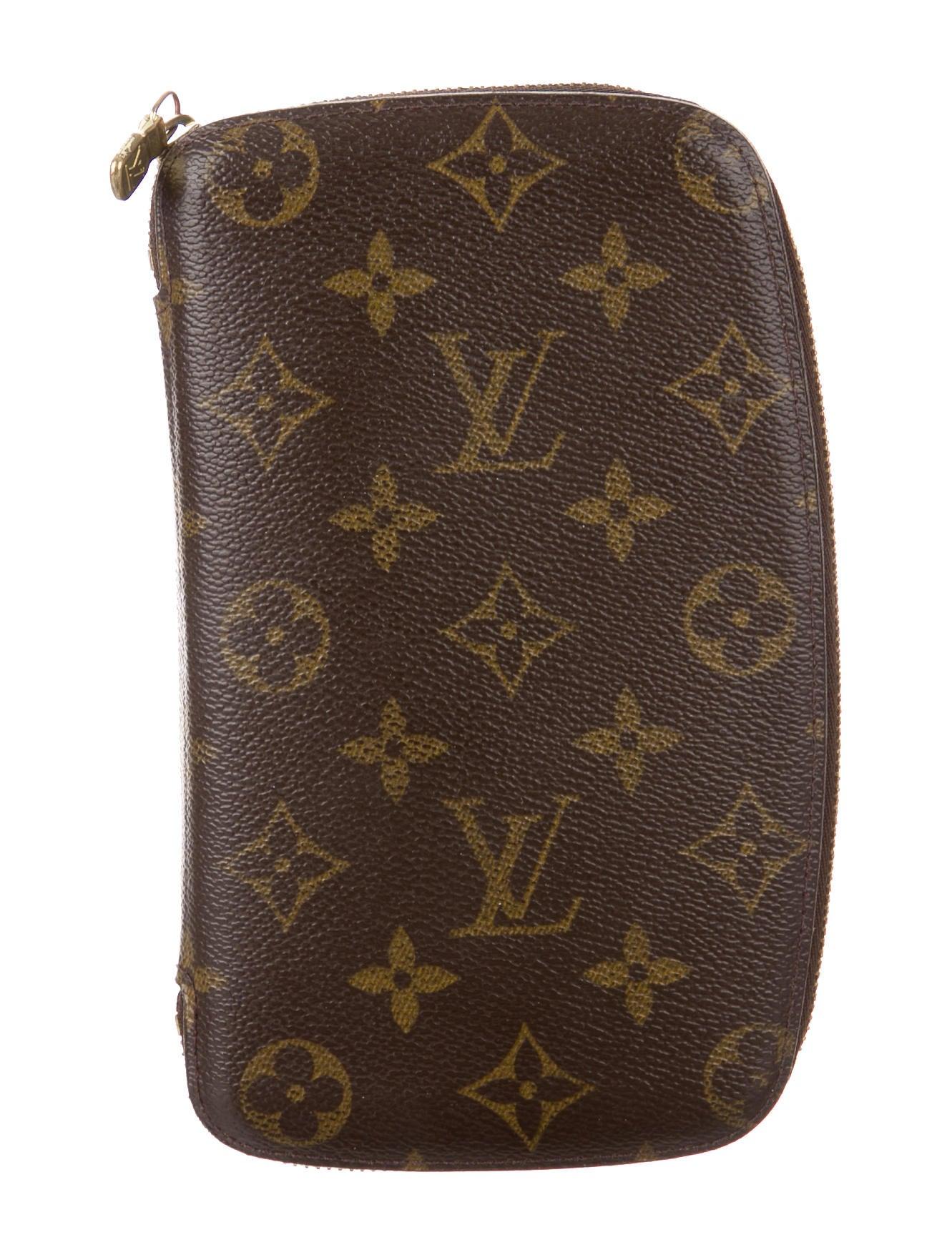 7bd613d2eb9f Louis Vuitton Monogram Zippy Geode Organizer - Accessories ...