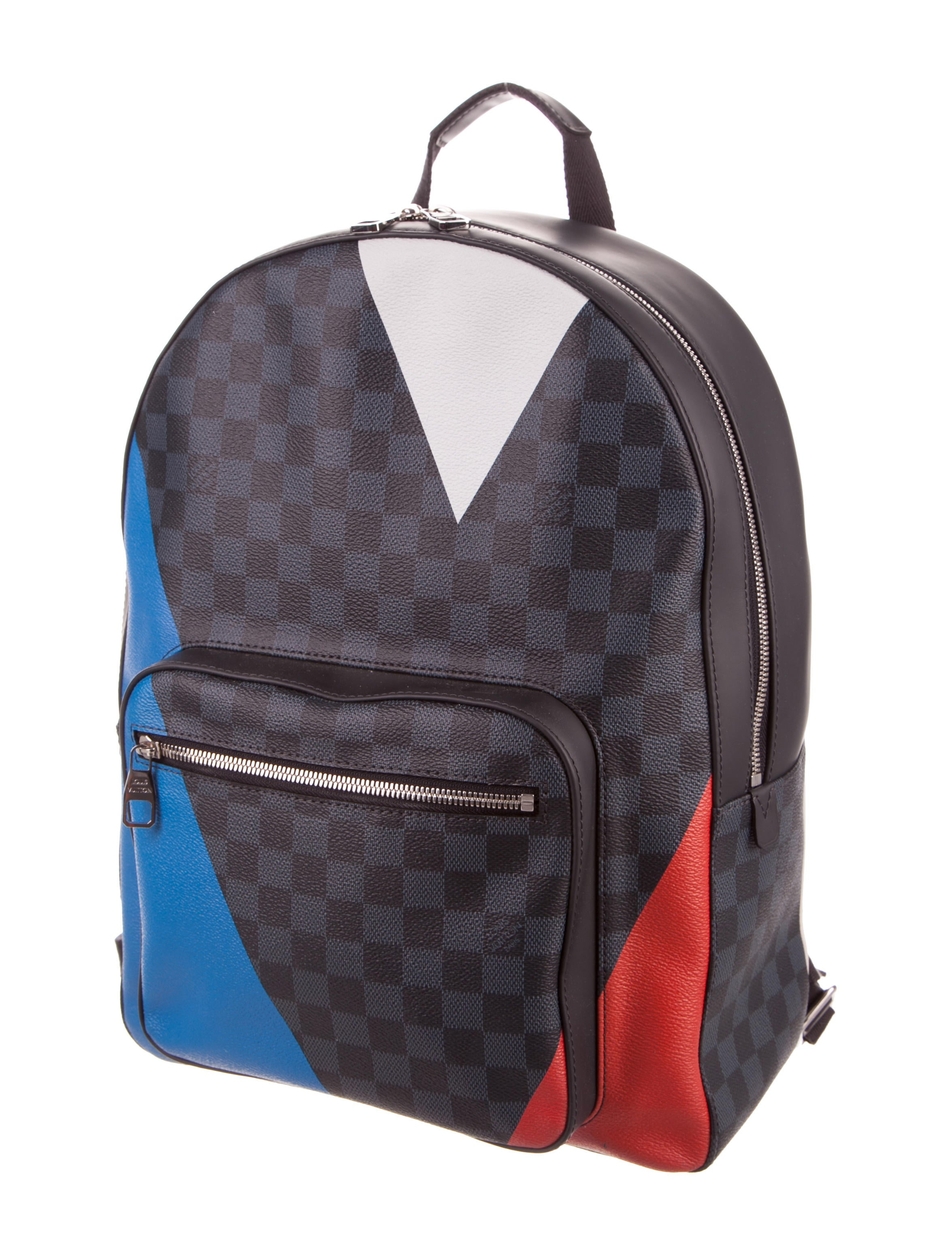 louis vuitton damier cobalt regatta josh backpack bags. Black Bedroom Furniture Sets. Home Design Ideas