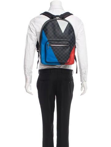 Damier Cobalt Regatta Josh Backpack