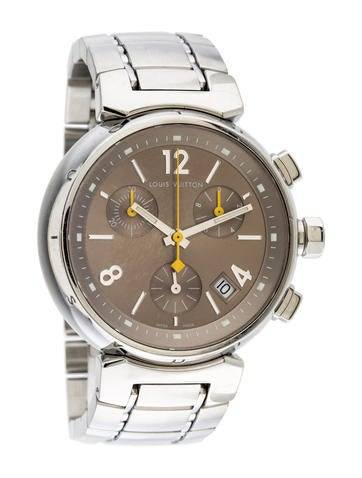 Louis Vuitton Tambour Chronograph Watch None