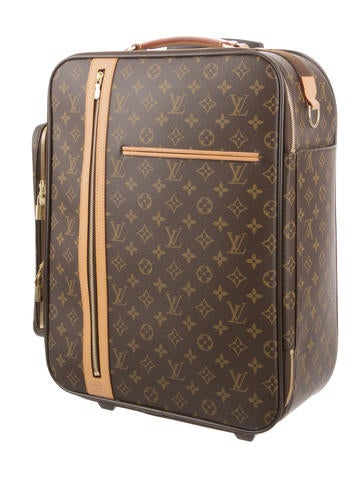 louis vuitton monogram bosphore trolley 50 luggage lou98129 the realreal. Black Bedroom Furniture Sets. Home Design Ideas
