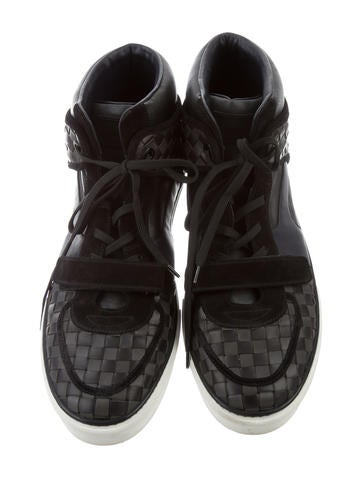Leather Tower Sneakers