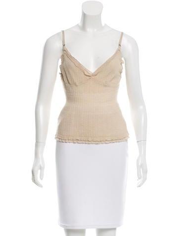 Louis Vuitton Cashmere Knit Top None