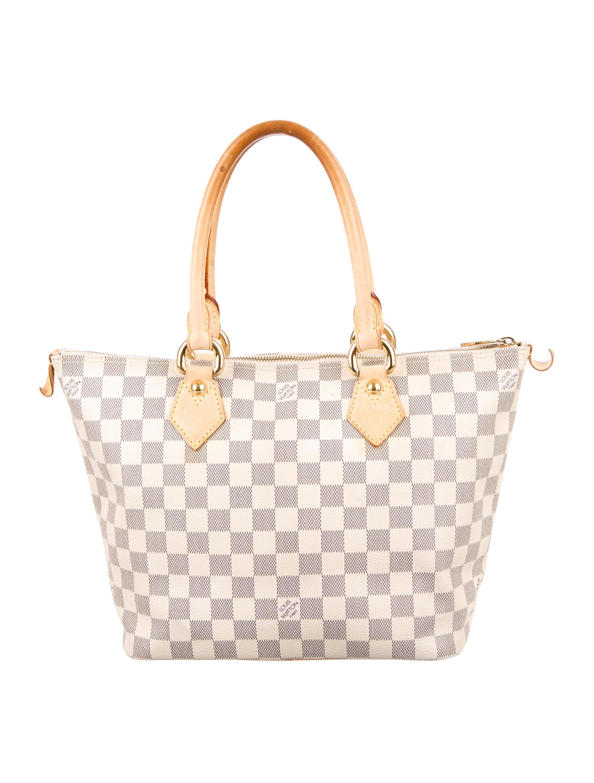 9d139a389fe Louis Vuitton Saleya Azur. Louis Vuitton Damier Azur Saleya GM ...