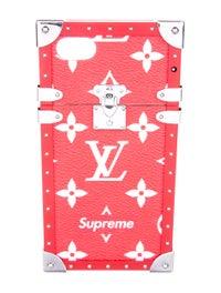 636dbc27d97b Louis Vuitton x Supreme 2017 Monogram Eye-Trunk iPhone 7 Plus Case ...