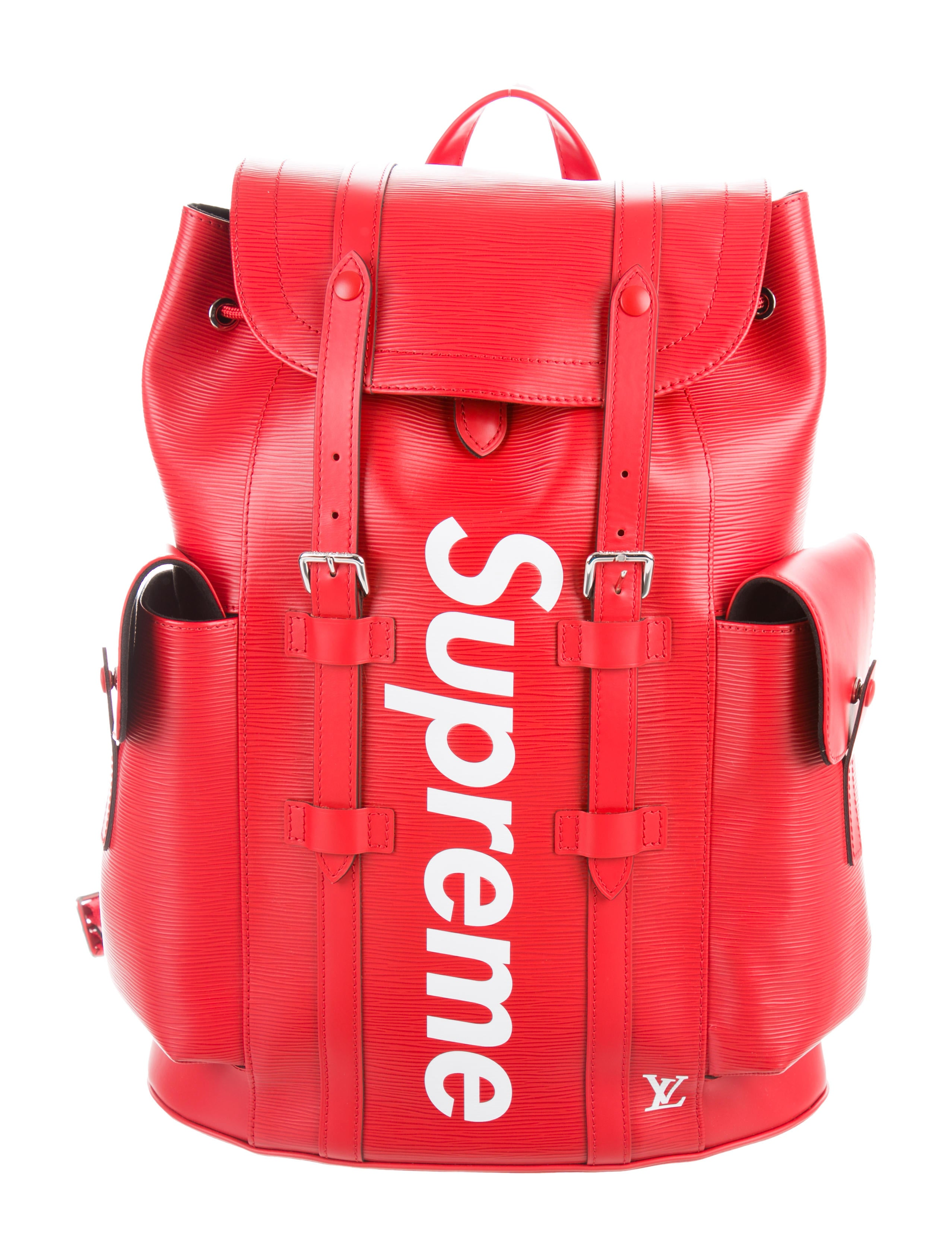 99d15a5341eb Louis Vuitton x Supreme 2017 Epi Christopher Backpack - Bags ...