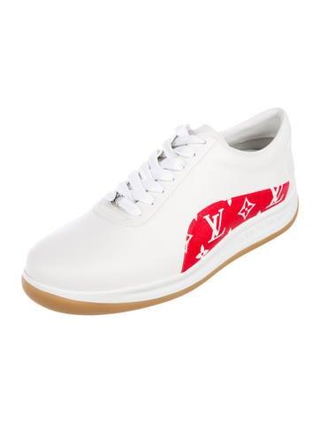 Louis Vuitton X Supreme Shoes The Realreal