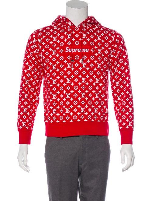d881a7acb06 Louis Vuitton x Supreme 2017 All Over Monogram Box Logo Hoodie ...