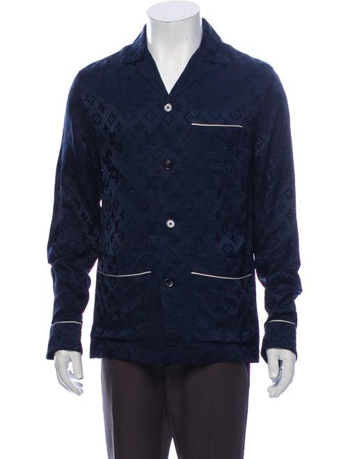Louis Vuitton x Supreme 2017 Logo Jacquard Pajama