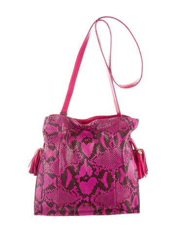Snakeskin Flamenco Bag w/ Tags