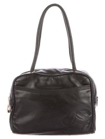 Loewe Lambskin Handle Bag