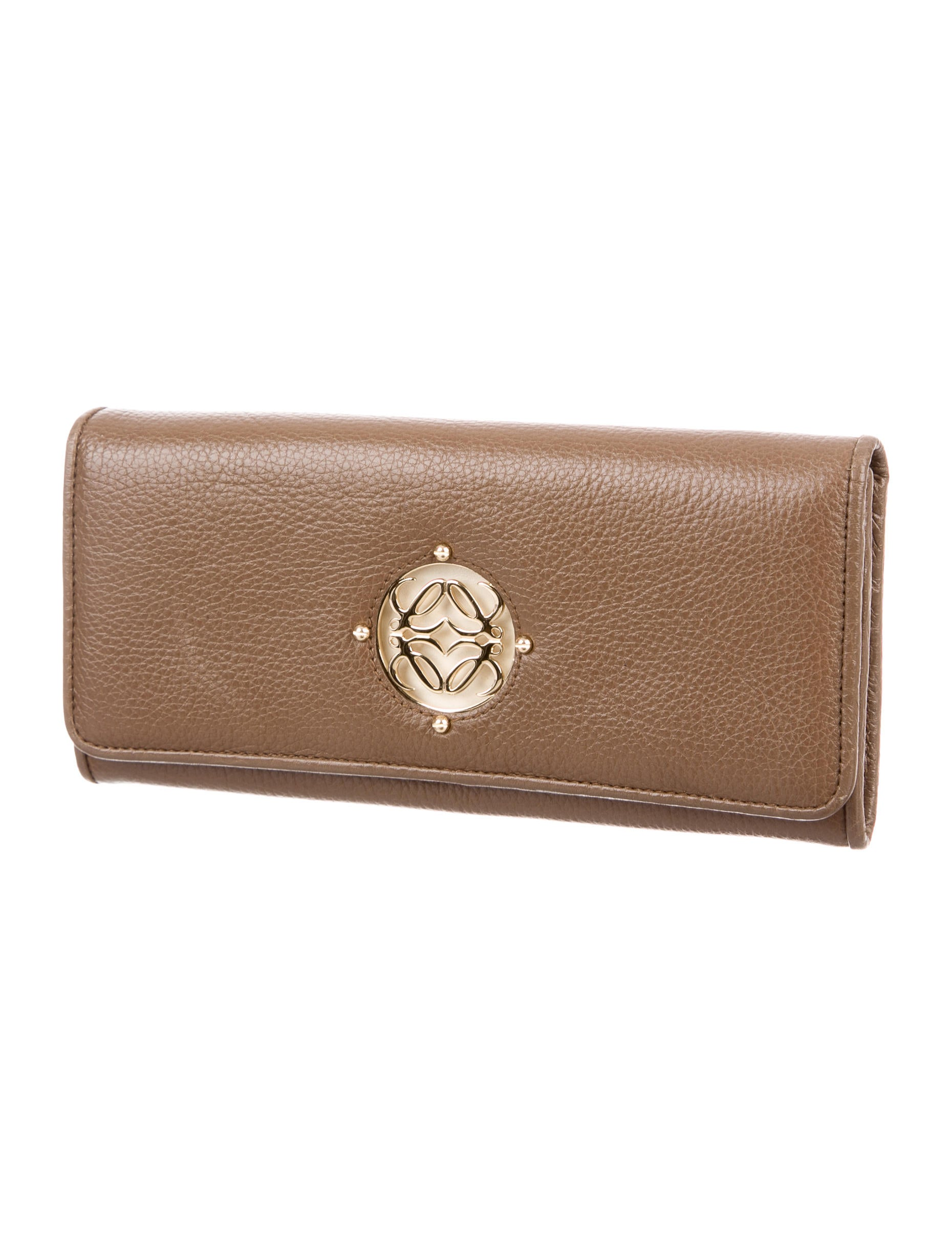 Loewe Leather Logo Wallet Accessories Low21452 The