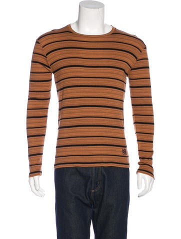 Loewe Striped Knit Sweater None
