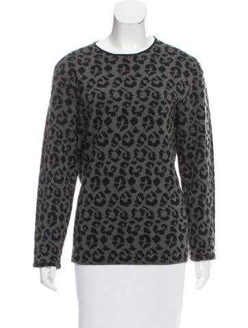 Loewe Wool Jacquard Sweater None