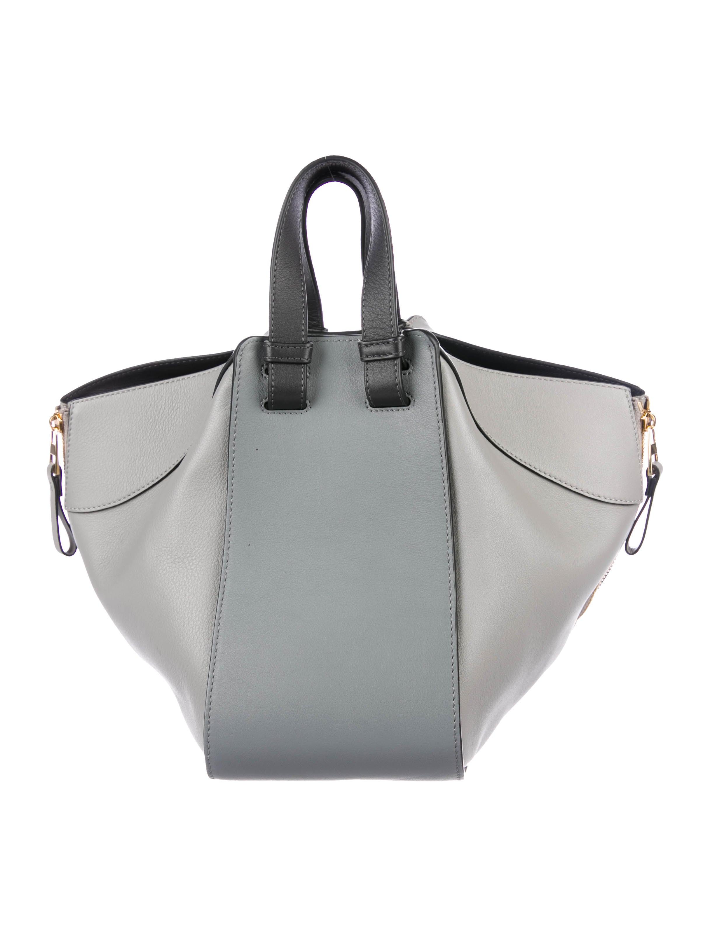 aff81fd17eb9 Loewe Small Leather Hammock Bag - Handbags - LOW23267