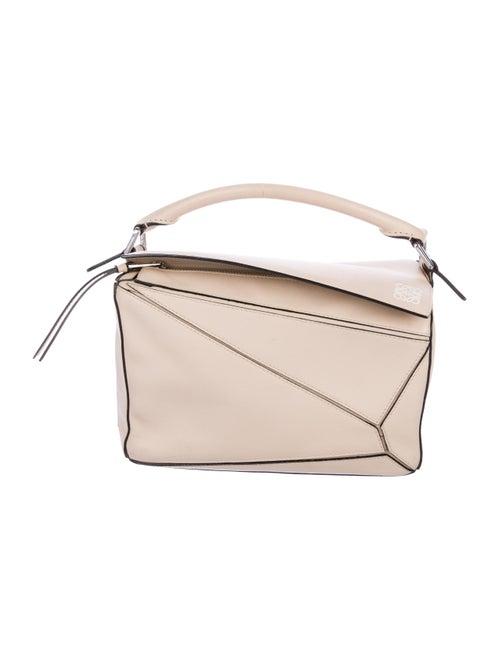 Loewe Medium Puzzle Bag Beige