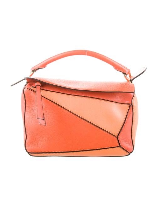 Loewe Small Puzzle Bag Orange