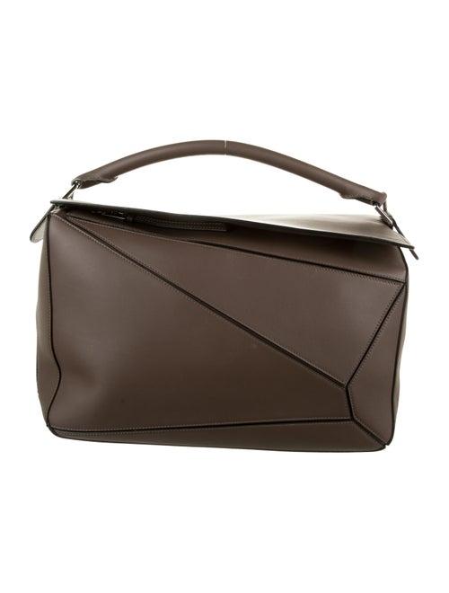 Loewe Large Puzzle Bag black