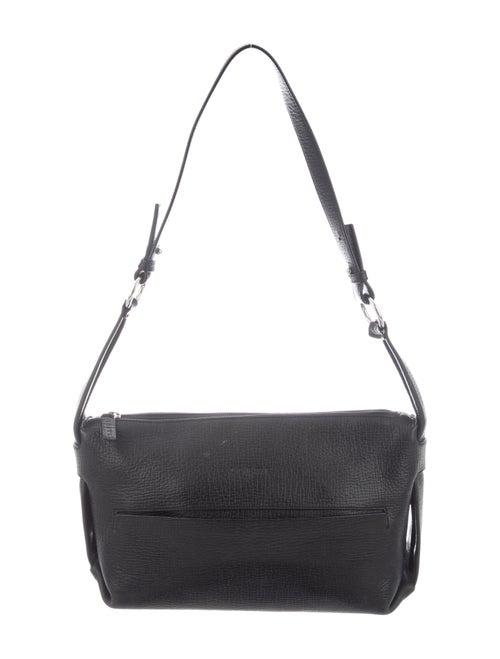 Loewe Vintage Leather Shoulder Bag Black