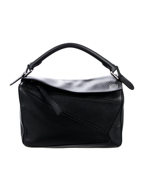 Loewe Small Puzzle Bag Black