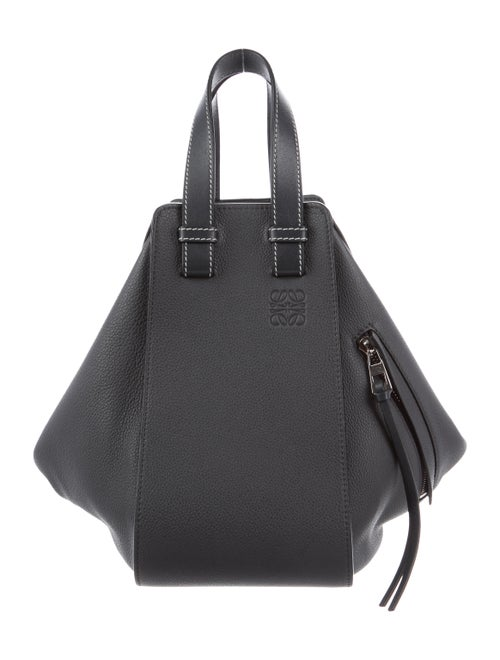 Loewe Leather Hammock Satchel Bag grey