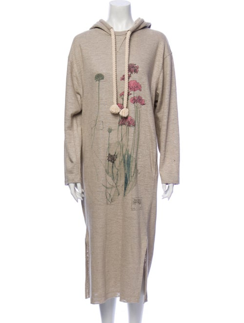 Loewe Linen Long Dress