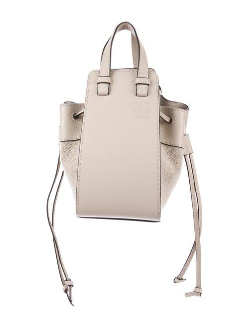 Loewe Mini Classic Hammock Bag Silver
