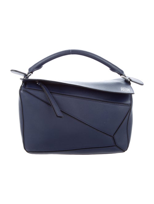 Loewe Medium Puzzle Bag Blue