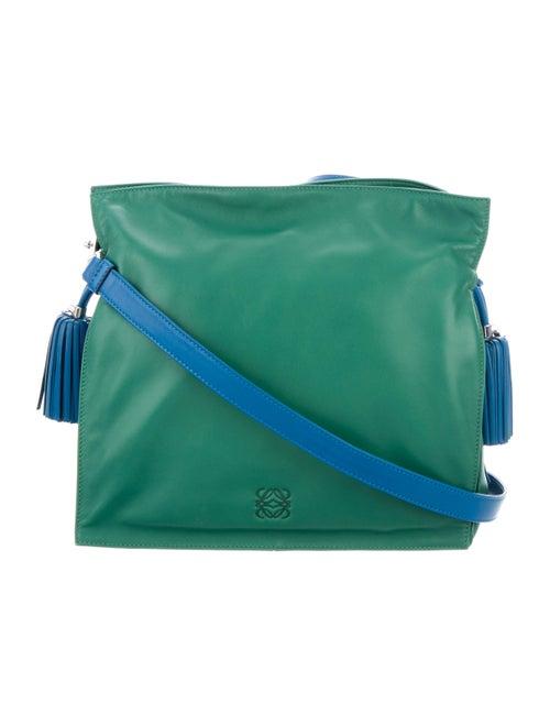 Loewe Flamenco Tassel 30 Bag Green
