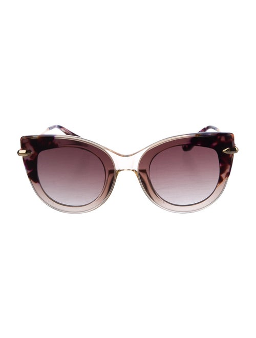 Loewe Cat-Eye Tinted Sunglasses transparent