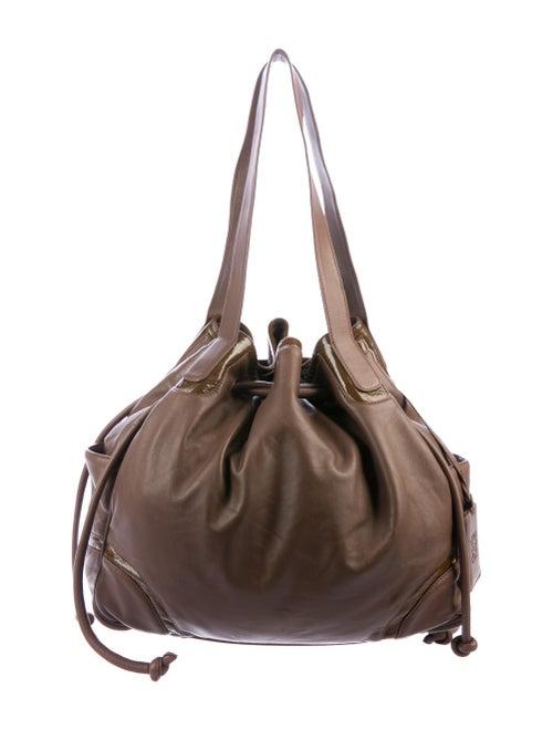 Loewe Vintage Leather Tote Brown