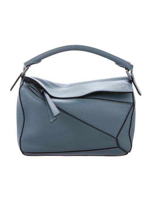 Loewe Small Puzzle Bag Blue