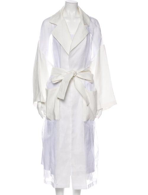 Loewe Trench Coat White