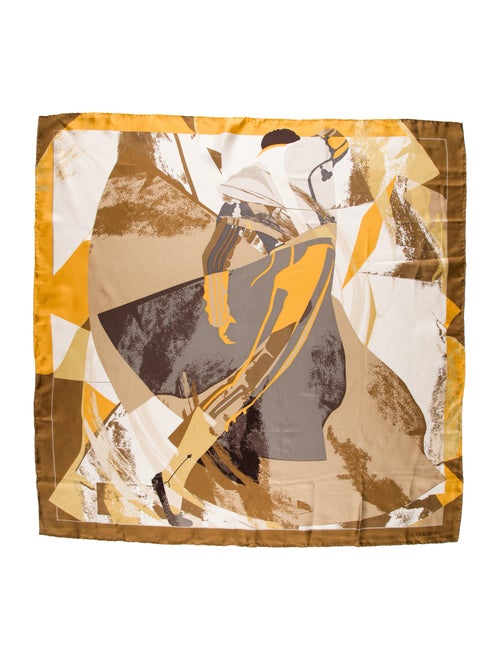 Loewe Silk Printed Scarf
