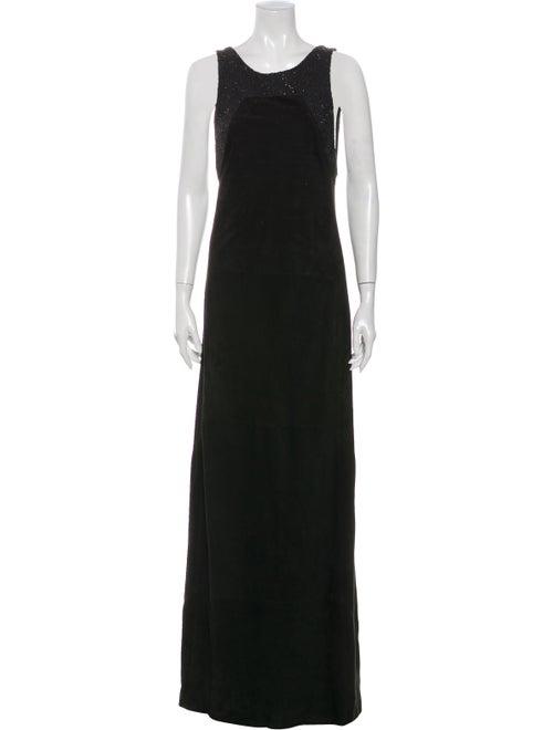 Loewe Vintage Long Dress Black