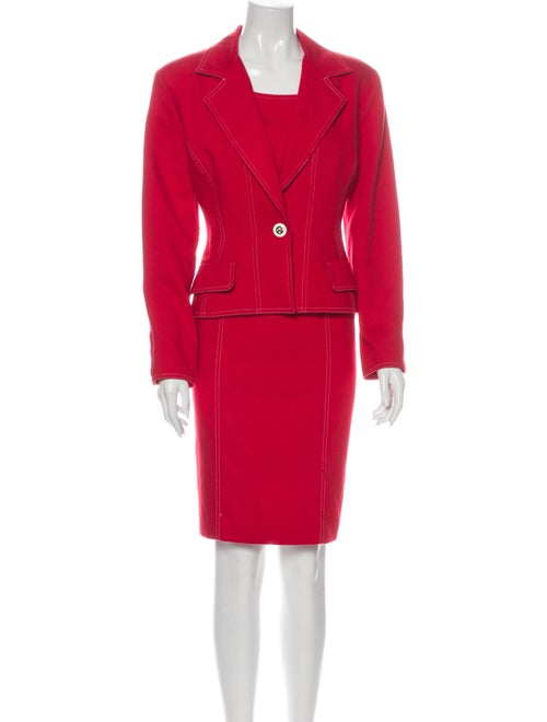 Lillie Rubin Dress Set Red