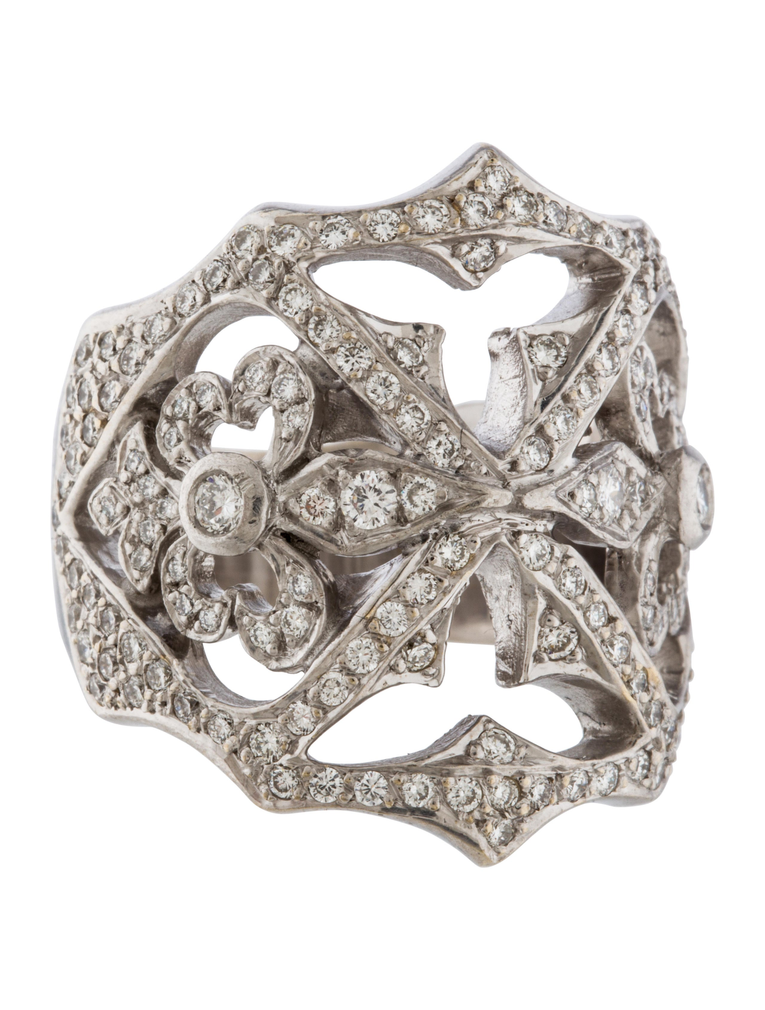 loree rodkin cage ring rings lrr20162 the