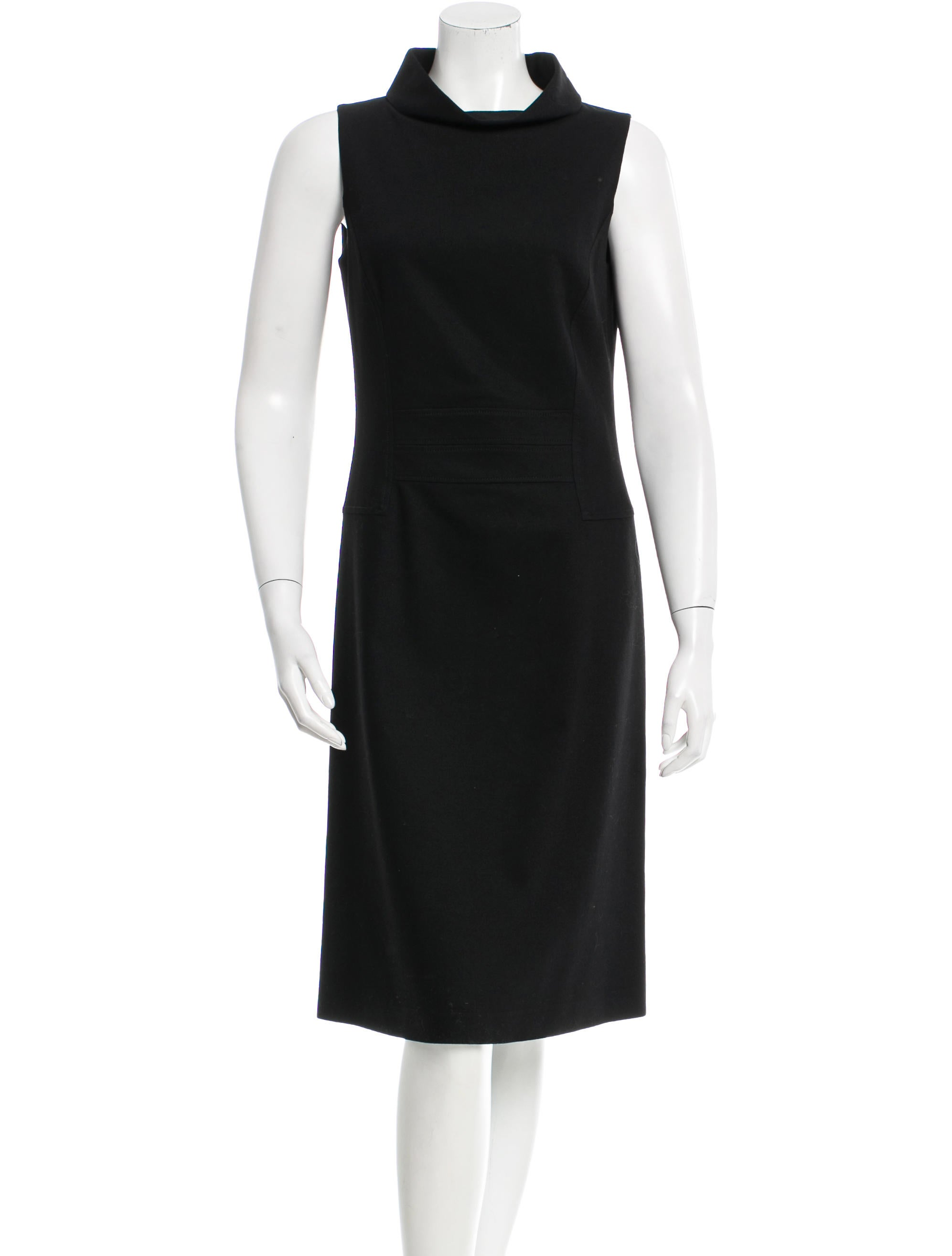 Cheap Price Discount Authentic Luciano Barbera Wool Sleeveless Dress Buy Cheap New Arrival Free Shipping Clearance Cheap Wholesale Price Amazing Price UVJig