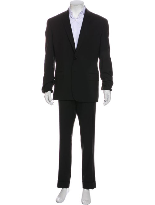 Luciano Barbera Wool Two-Piece Suit Wool