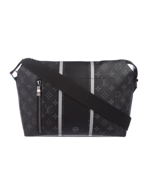 d616648bfaa6 Louis Vuitton x Fragment 2017 Monogram Eclipse Apollo Messenger PM ...