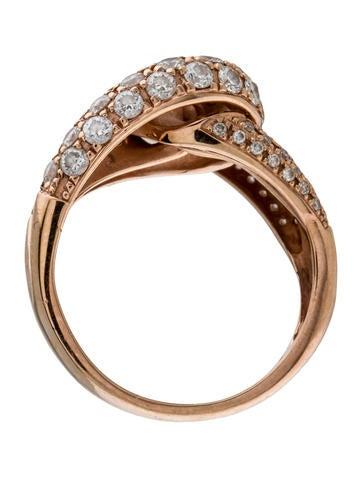 Diamond Love Knot Ring