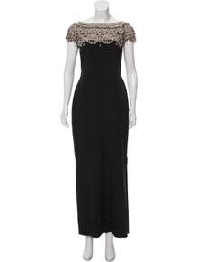 8fe8c20ebf4 Marchesa. Embellished Evening Dress