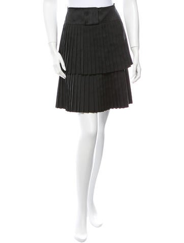 Accordion Pleated Skirt