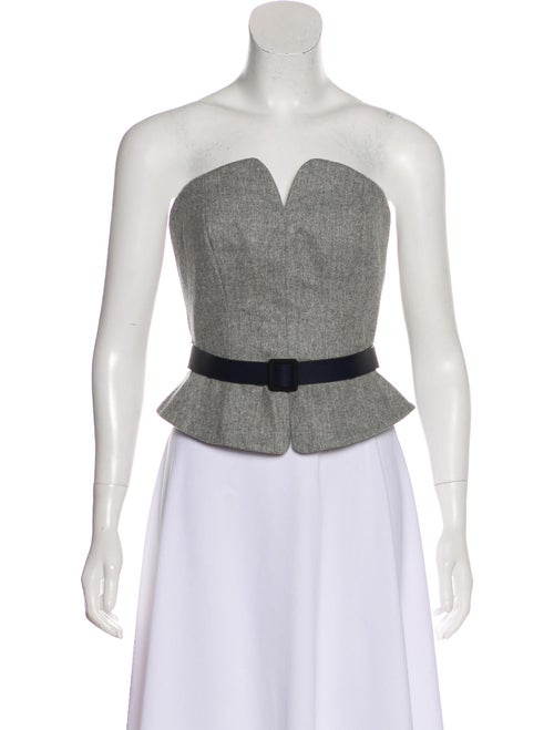 dc4a3f92f4 Martin Grant Strapless Virgin Wool Top - Clothing - MAG21059