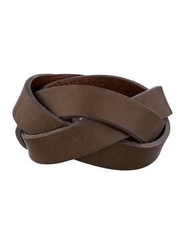 Maison Martin Margiela Leather Bracelet