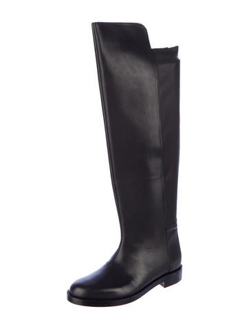 maison martin margiela knee high boots w tags shoes