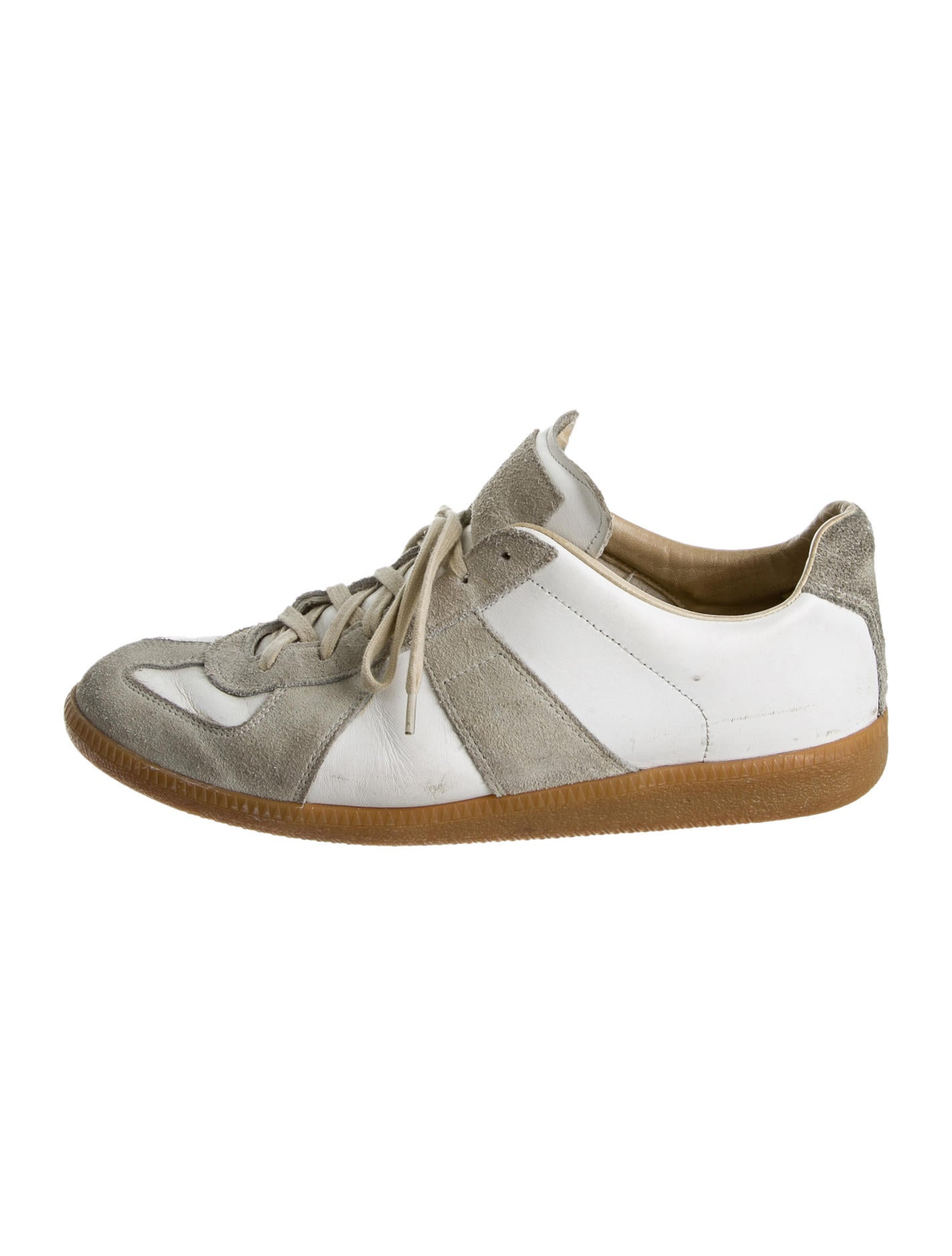 maison martin margiela sneakers shoes mai23388 the realreal. Black Bedroom Furniture Sets. Home Design Ideas