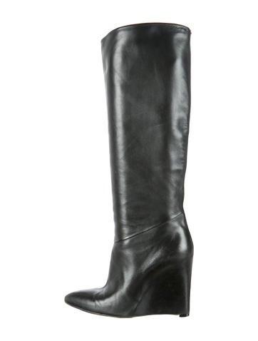 maison martin margiela wedge boots shoes mai23746
